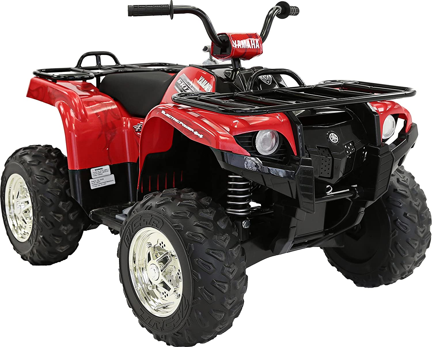 91WBYAzLoTL._SL1500_ amazon com yamaha kids grizzly atv 12v electric ride on quad 50Cc 4 Wheeler Wiring Diagram at aneh.co