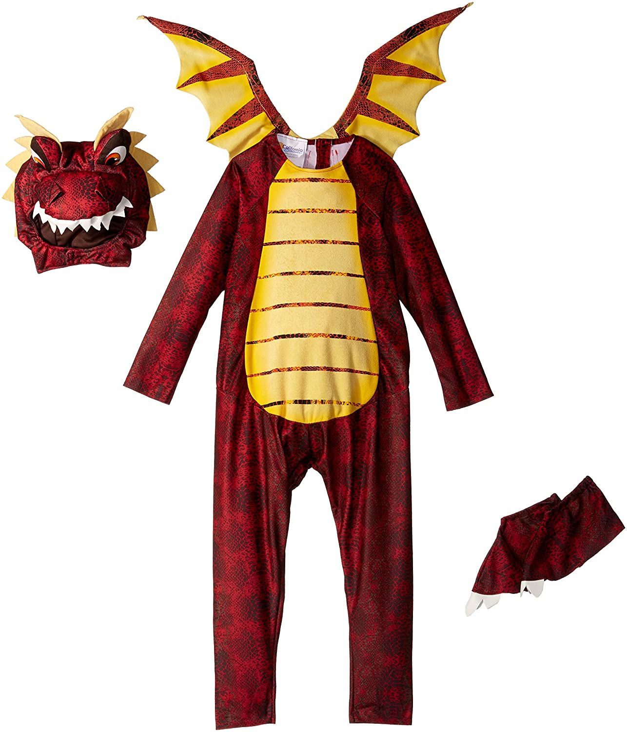 amazoncom california costumes fire breathing dragon toddler costume 4 6 toys games - Dragon Toddler Halloween Costume