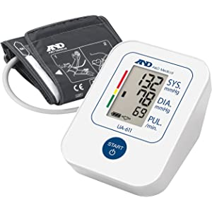 A&D Medical UA-611 Tensiómetro de brazo digital, validado clínicamente