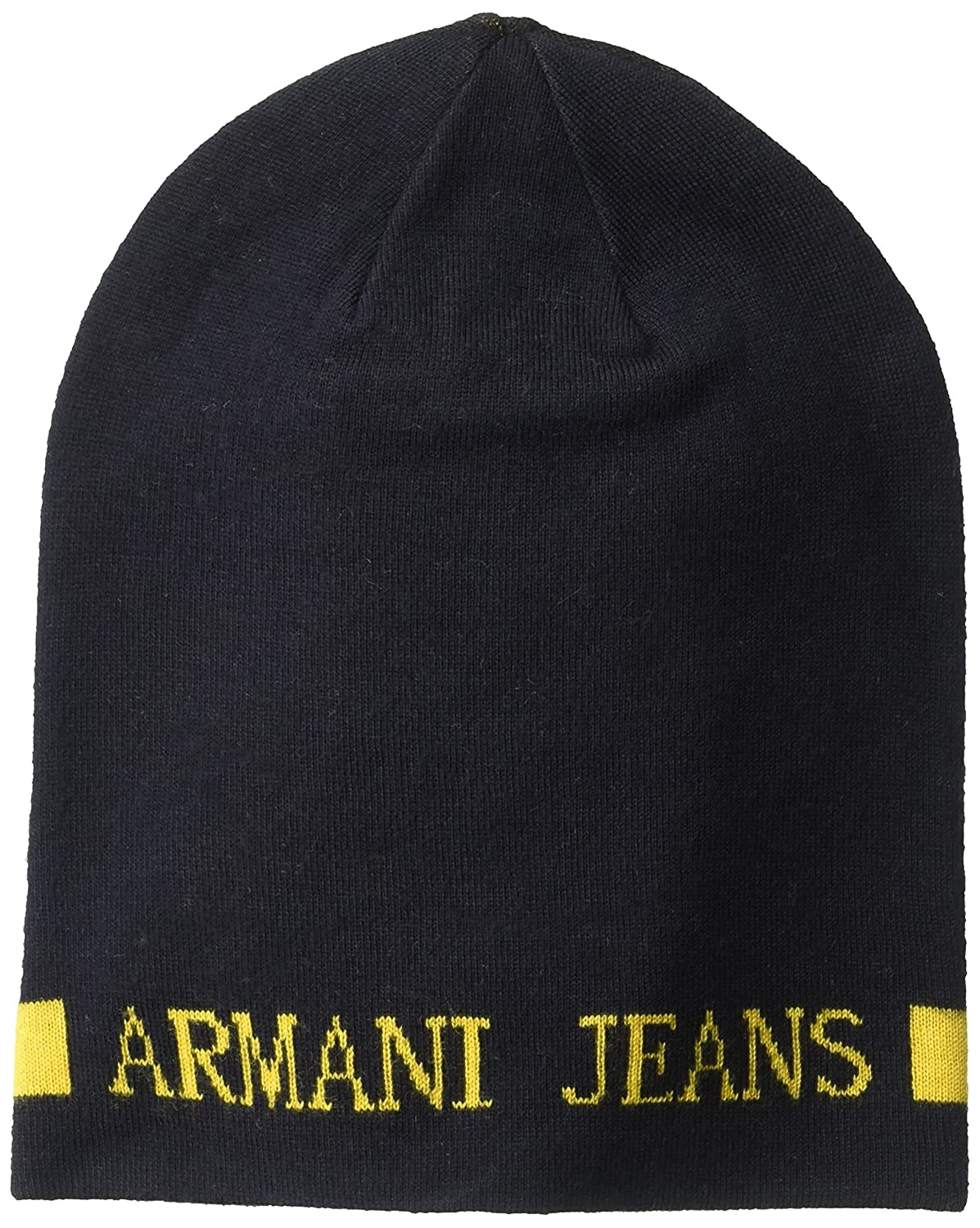 5e9c14a2180 Armani Exchange Men s Wool Blend Knit Beanie