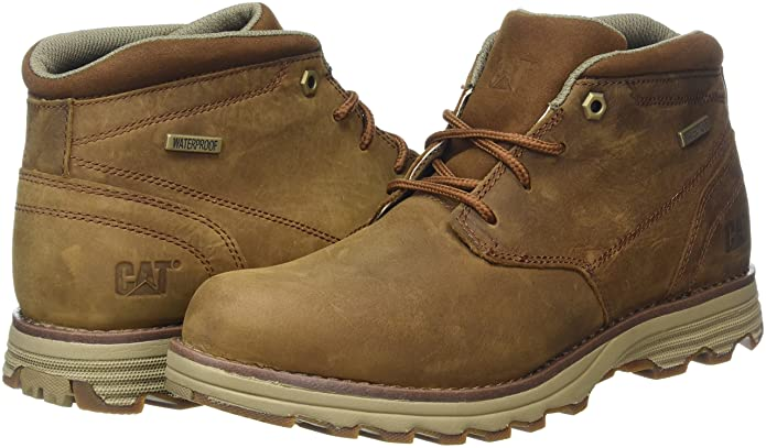 Amazon.com | Cat Elude Waterproof Mens Lace-Up Boot 7 UK/ 8 US Brown | Boots