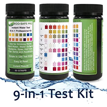 Amazon Com Jnw Direct Drinking Water Test Strips 9 In 1