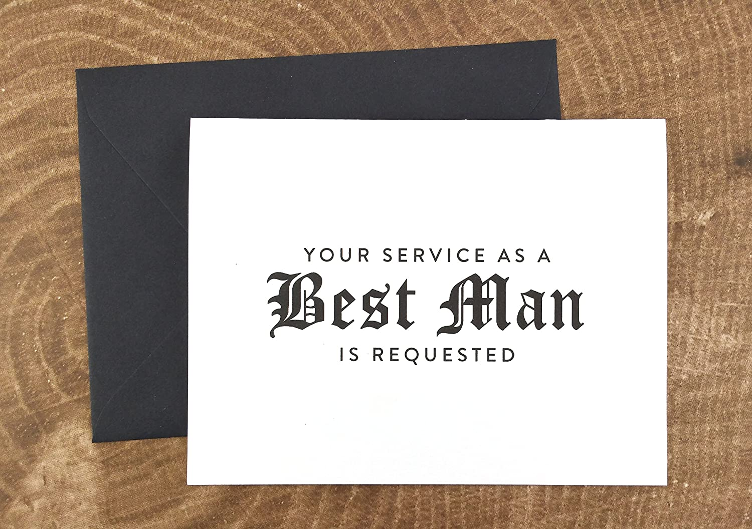 Amazon Com Will You Be My Best Man Card Your Service As A Best Man Is Requested Card Wedding Card Fps0011 Handmade