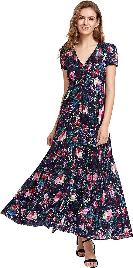 顶级销量印花连衣裙!今年时髦精都穿!多种花色