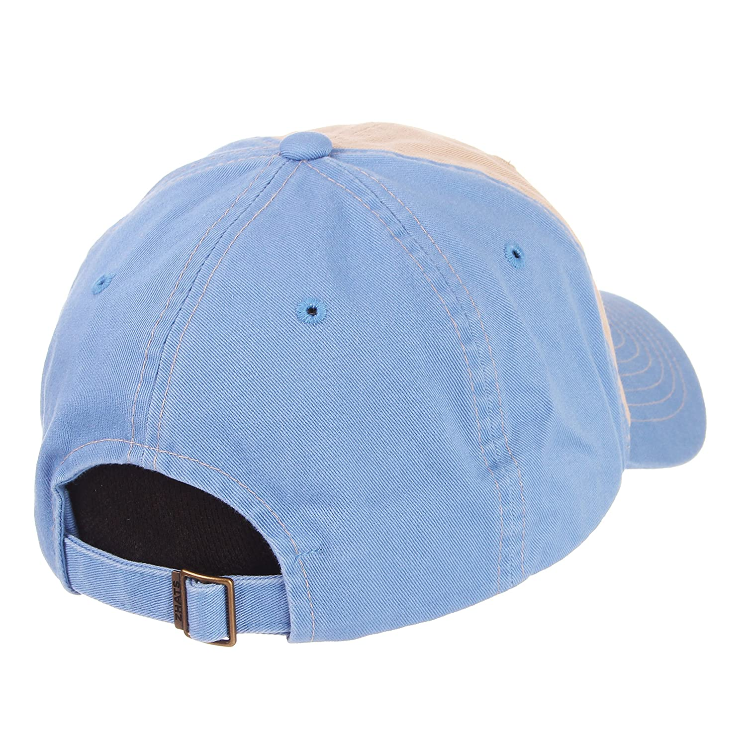 Stone//Team Color Adjustable Zephyr Mens Moab Relaxed Cap