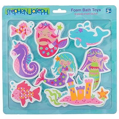 Stephen Joseph Foam Bath Toy, Mermaid: Toys & Games
