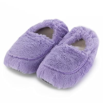 Warmies au micro-ondes Chaussons (Taille 3–7) Lilas