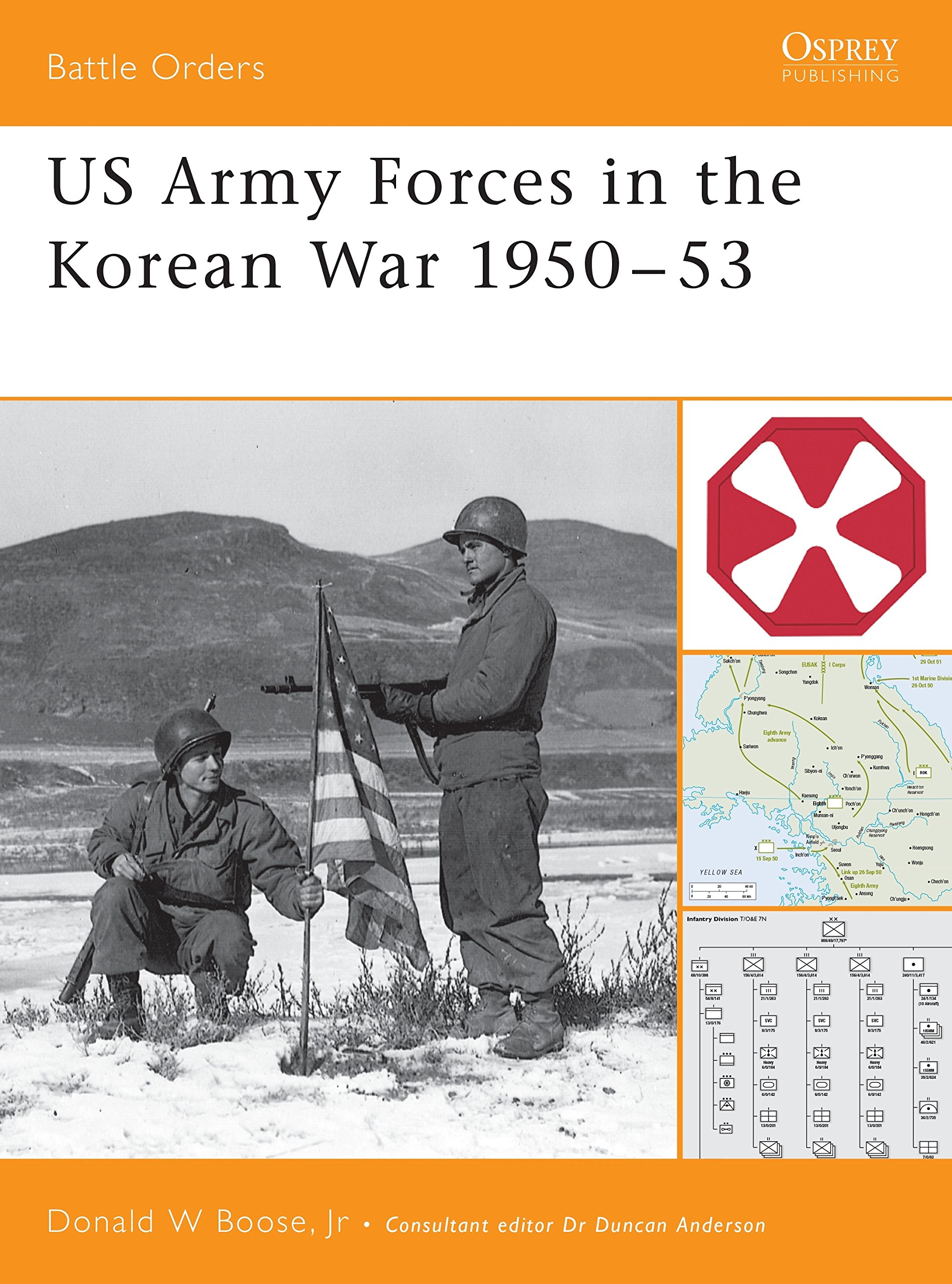 US Army Forces in the Korean War 1950–53 (Battle Orders)