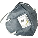 3M CL-900401_2 Anti-pollution Mask and Respirator, Grey, Pack of 2