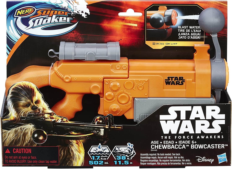 NERF Super Soaker Star Wars Sidekick Blaster Water Shooting Toy