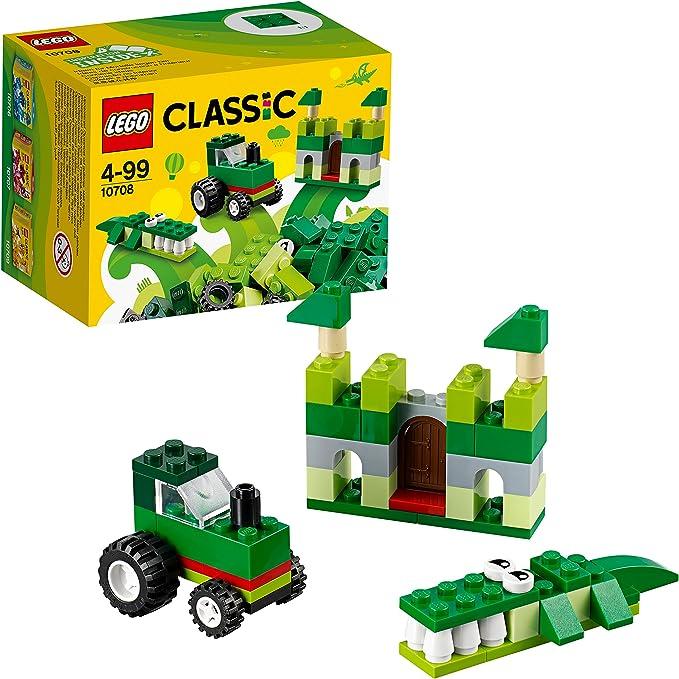 LEGO Classic - Caja creativa de color verde (10708): Amazon.es ...