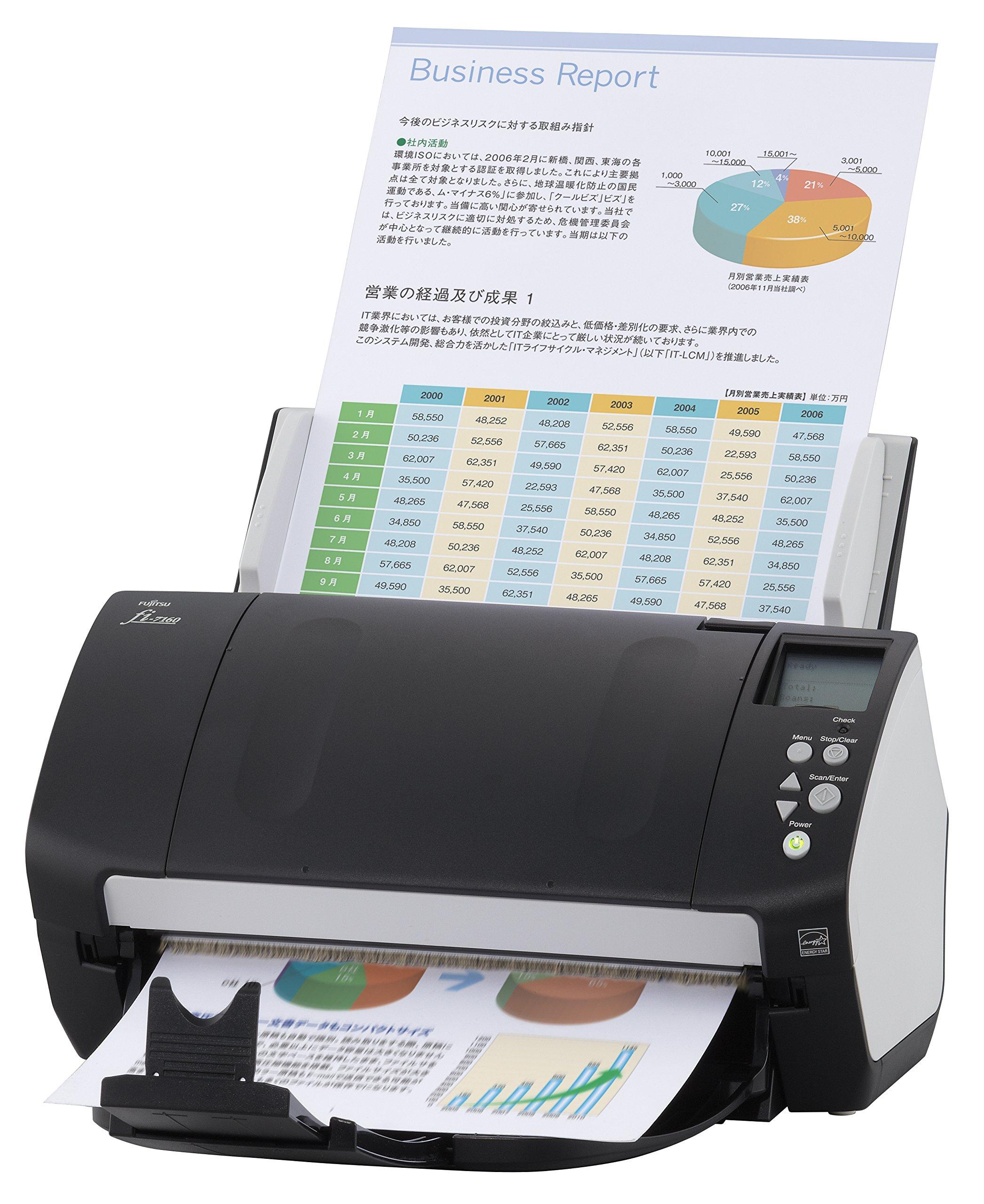 Fujitsu fi-7160 Color Duplex Document Scanner - Workgroup Series by Fujitsu (Image #3)