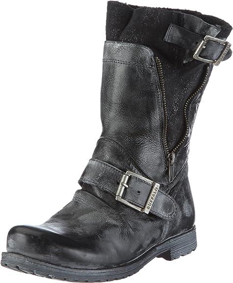 Buffalo London Damen ES 16001 Apache D.FACE SINT Klassische Stiefel