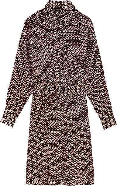 Massimo Dutti 6601/804/671 - Camisa con Cadena para Mujer ...