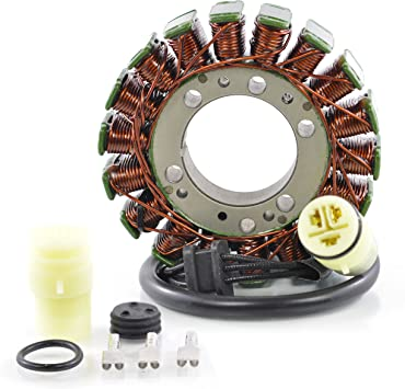 Generator Stator For Kawasaki Ninja ZX-6R ZX6R ZX-6RR ZX6RR Z1000 Z 1000 2003-2006 OEM Repl.# 21003-0001 Z750 Z 750