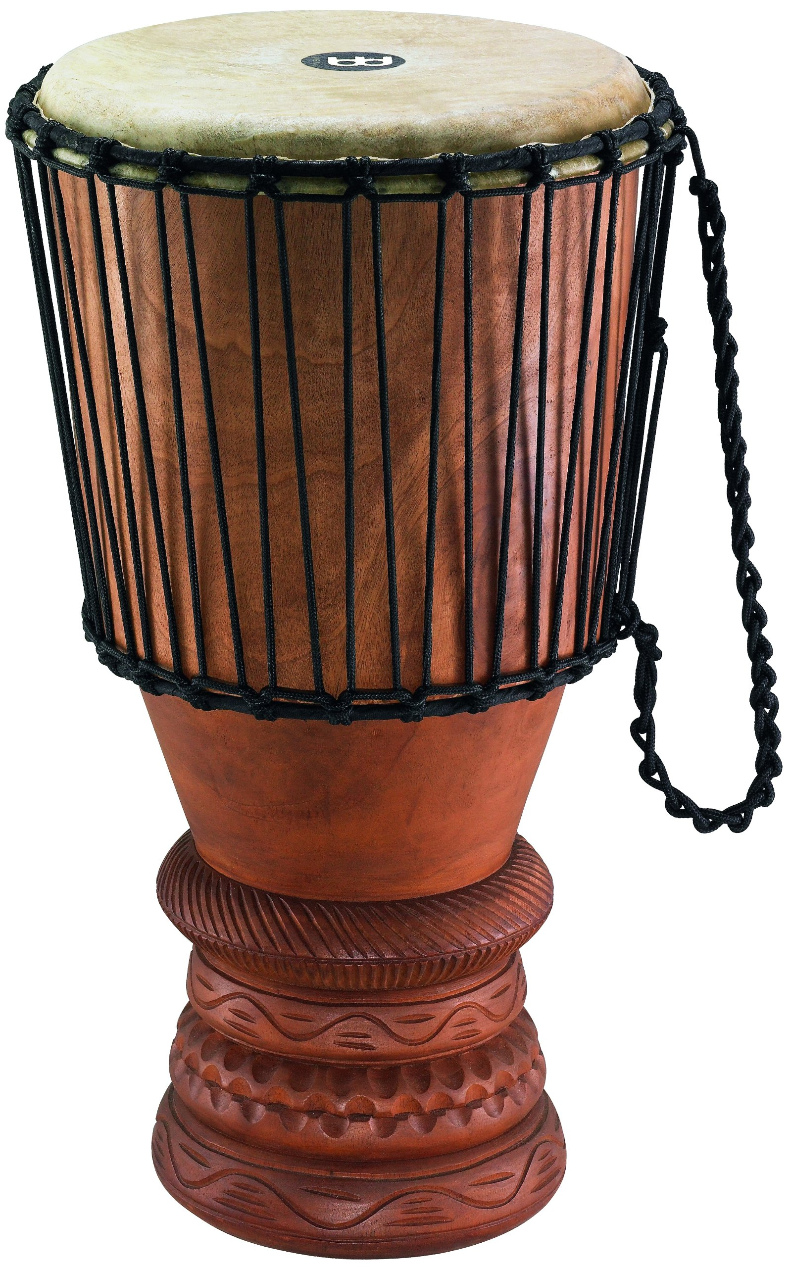 Meinl Percussion ABGB-L Large 12-Inch African Wood Bougarabou, Brown