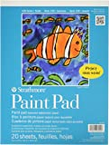27-209 100 Series Youth Paint Pad, 9 Tape Bound, 20 Sheets