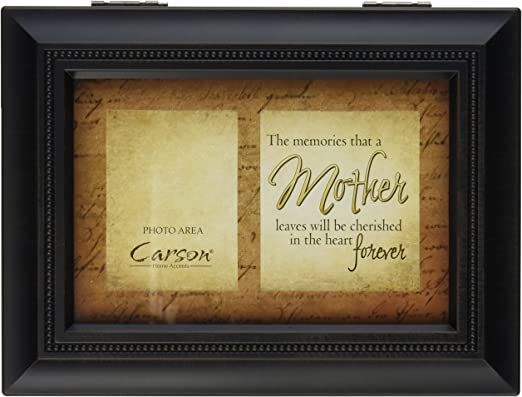 Carson Home Accents Treasure Every Moment Music Box Plays Everything is Beautiful