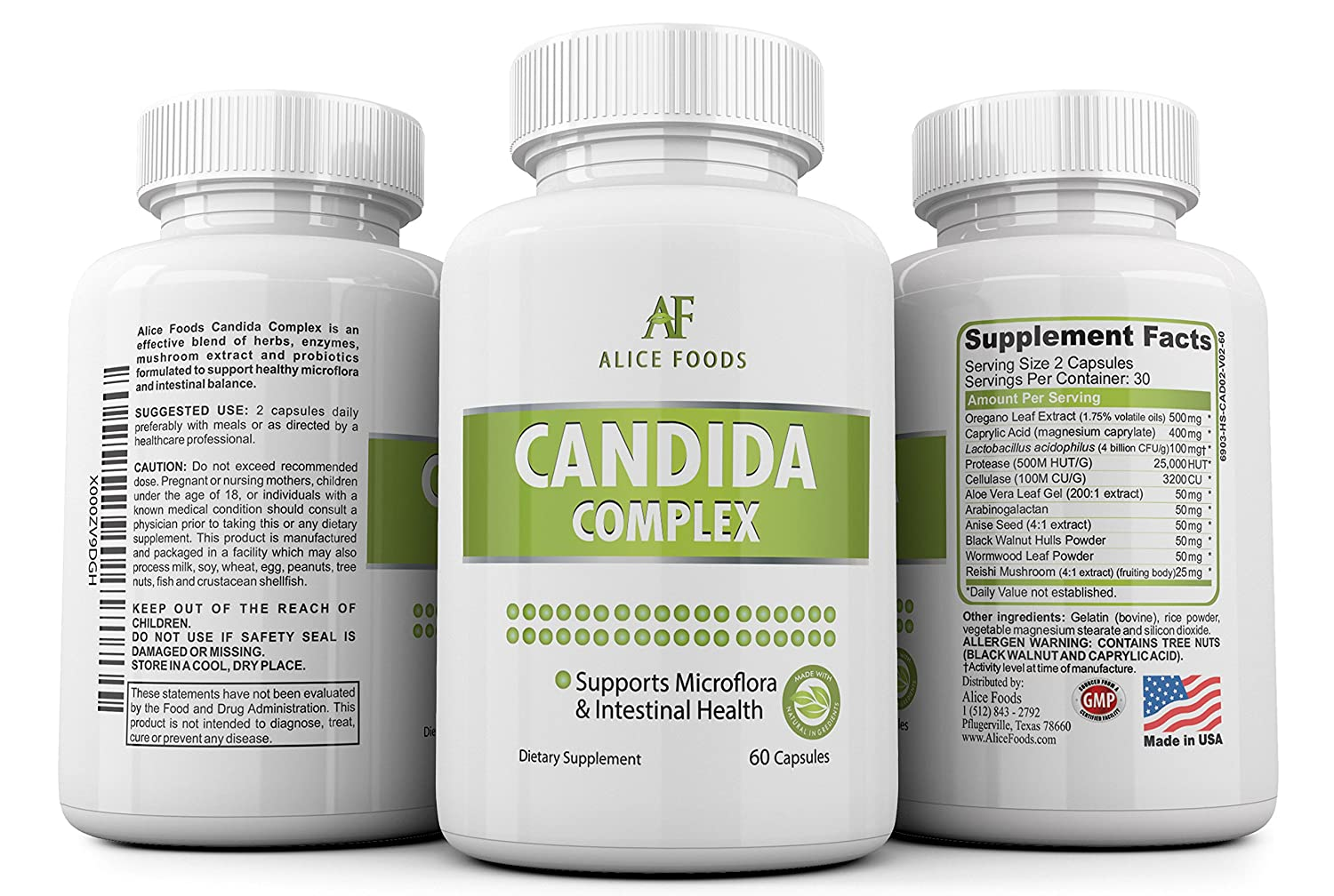 Candida probiotic herbal store buy - Amazon Com Premium Candida Cleanse Complex For Men Women Fights Candida Yeast Infection Overgrowth Natural Detox Supplement With Antifungal