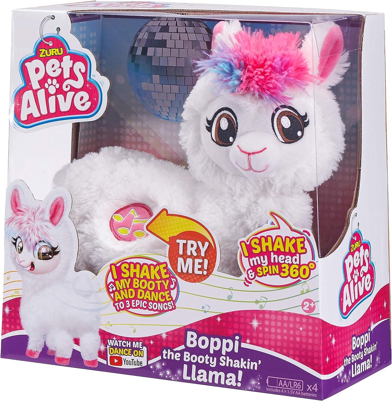 Pets Alive Boppi die Beute Shakin lama Battery-Powered tanzen Roboter-Spielzeug-lila