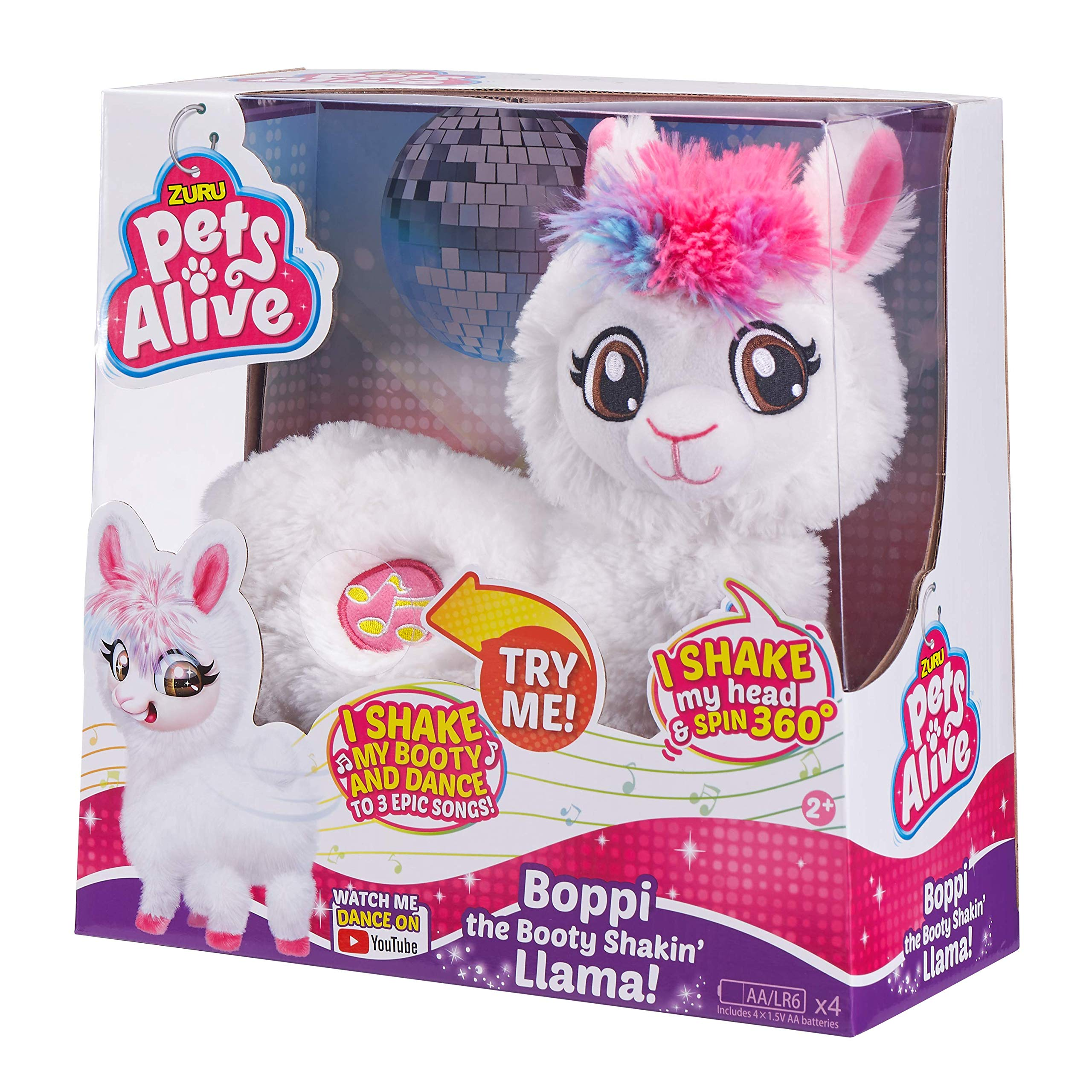 Pets Alive Boppi The Booty Shakin Llama Battery-Powered Dancing Robotic Toy by Zuru by Pets Alive (Image #2)