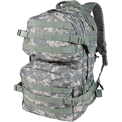 "18.5"" Tactical Military Style Trekking Backpack and Daypack By Modern Warrior (Various Colors)"
