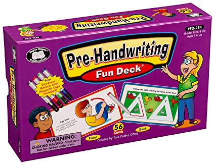 Super Duper Publications Fine Motor Hand Exercises /& Prewriting Skills Fun Deck Flash Cards Educational Learning Resource for Children