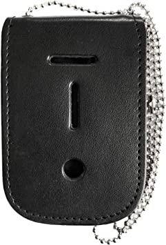 Badge holder with ID carrier and neck chain