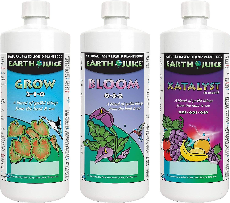 Earth Juice 100542960 Starter Kit Plant Fertilizer