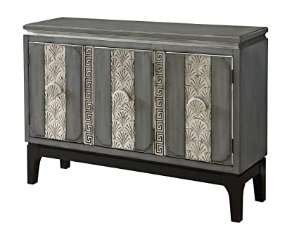 Credenza La Gi : Amazon treasure trove accents grey and silver credenza