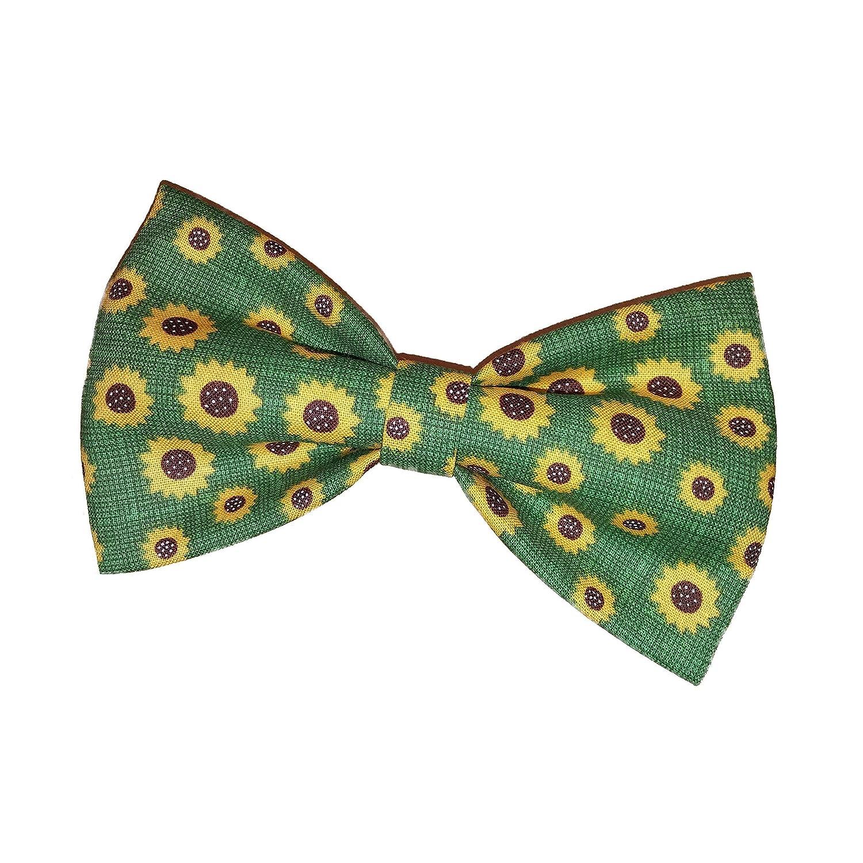 Sunflowers Bow Tie - Clip on Bowtie