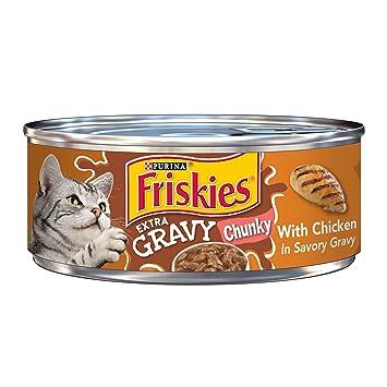 Purina - Friskies Friskies Alimentos mojados para gatos, salsas, con vajilla de pollo en