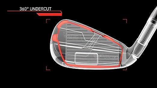Amazon.com: TaylorMade Golf M6 Combo Juego de hierro/híbrido ...