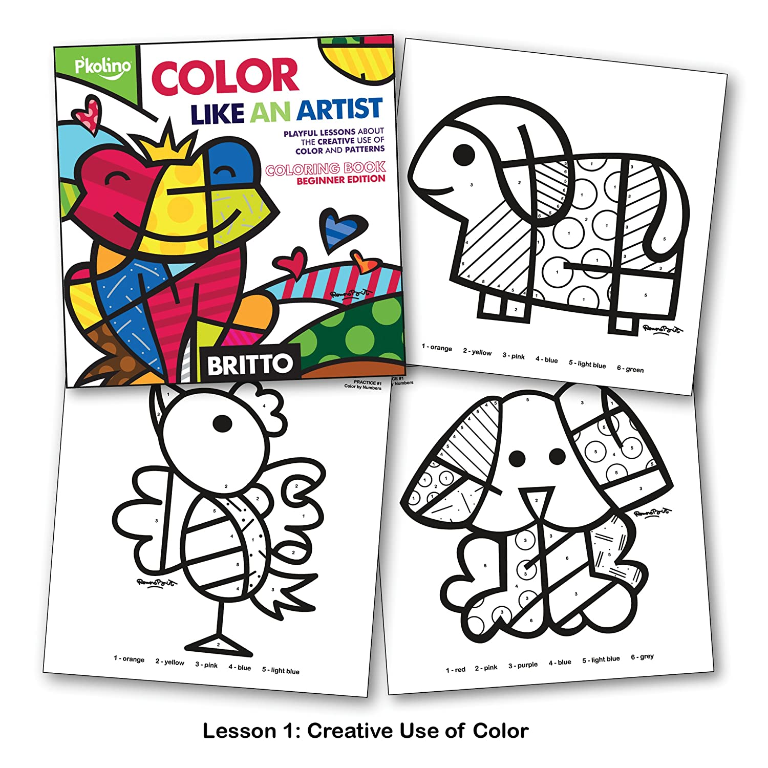 Uncategorized Romero Britto Coloring Pages britto color like an artist coloring book figures amazon canada