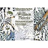 PEPIN ポストカードブック【ぬりえ】ポストカード 【大人の塗り絵】 ウィリアムモリス