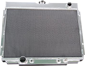 """ALUMINUM 3 ROWS RADIATOR 67 68 69 70 FORD MUSTANG 20/"""" WIDE CORE MANY MODELS"""