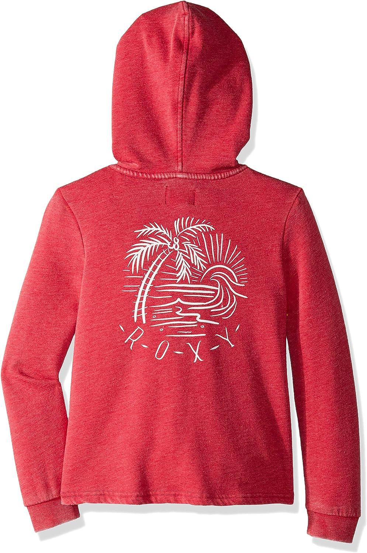 ROXY Girls Big Mask and Snorkels Zip-up Sweatshirt