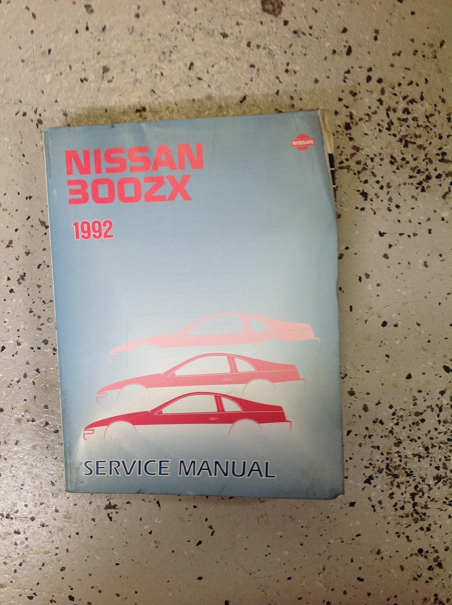1992 Nissan 300ZX Repair Shop Manual Original: Nissan