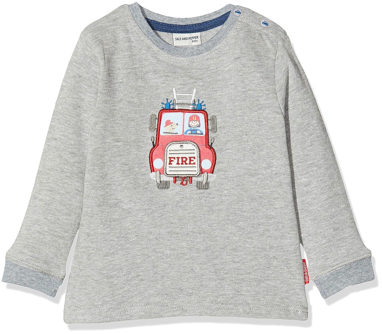 Salt /& Pepper Ready for Action Feuerwehr Mit Motiv Zum /Öffnen Sweat-Shirt B/éb/é gar/çon