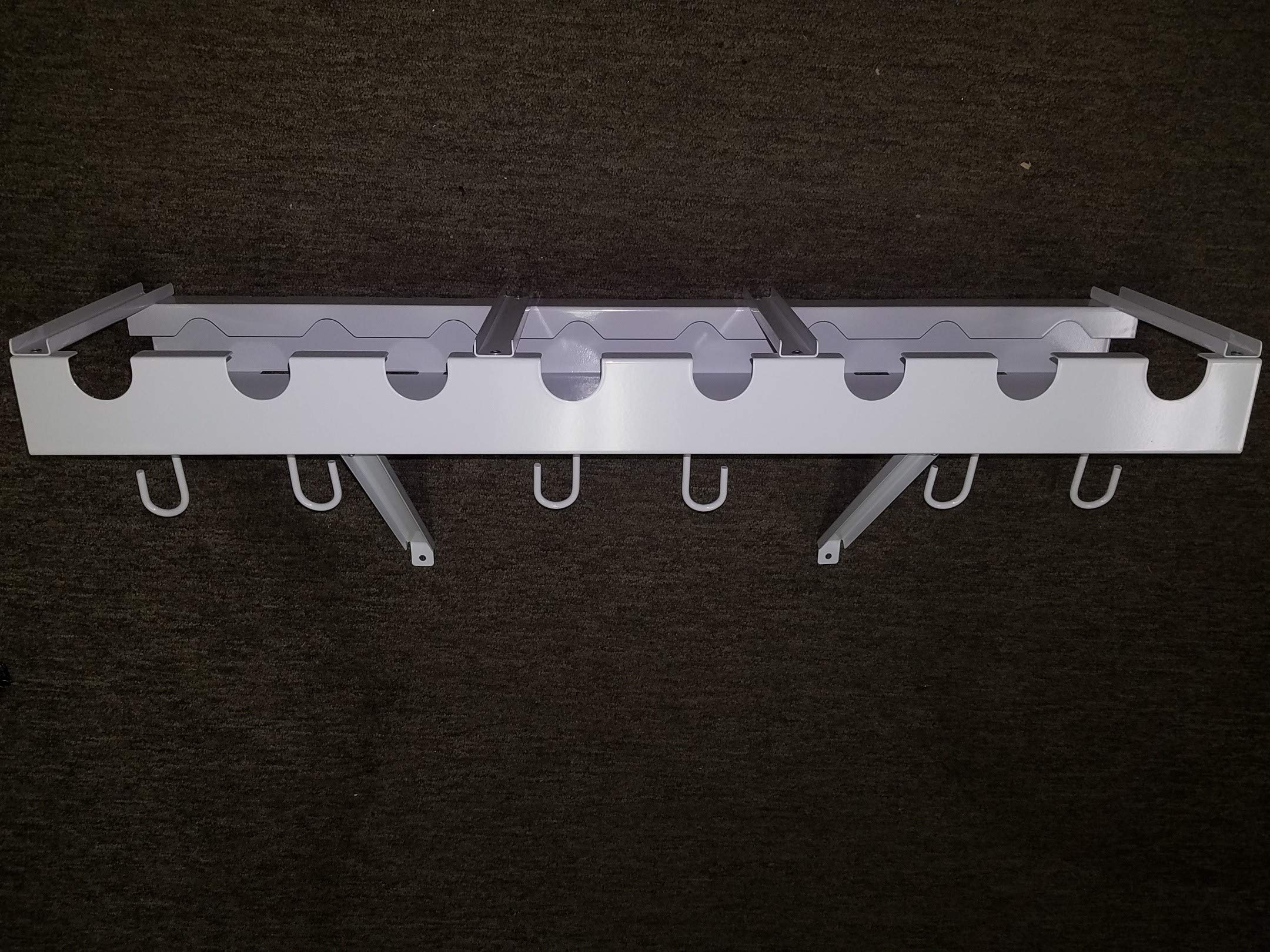 Viking Overhead Wall Mount Tool-Fishing Rod Holder by Viking Solutions (Image #1)