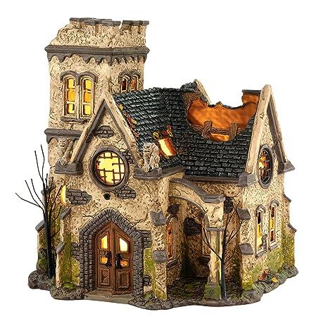 Amazon.com: Department 56 Snow Village Halloween The Haunted ...