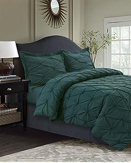 tribeca living sydney 110gsm microfiber duvet cover set teal king - Tribeca Bedroom Set