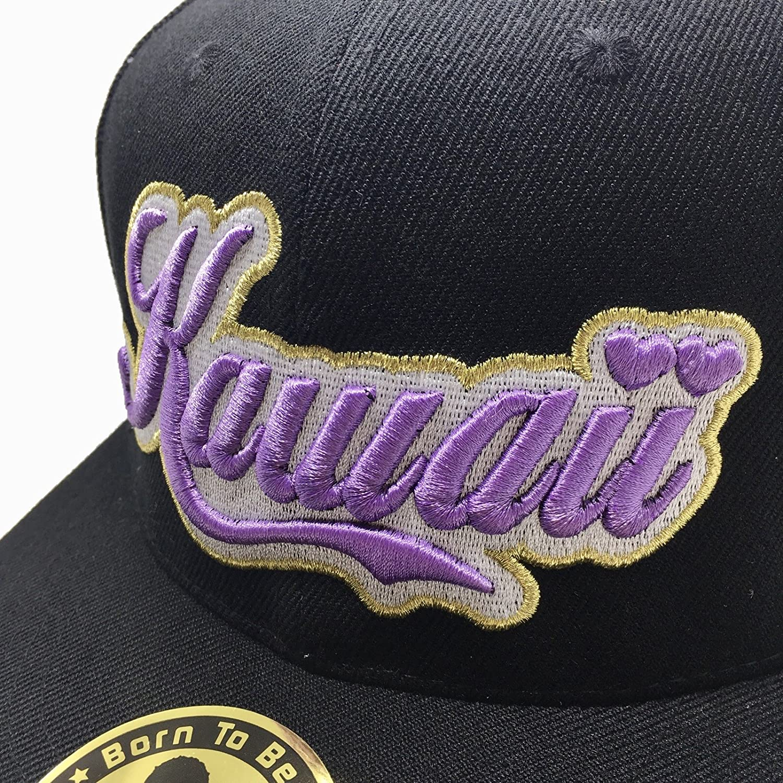 PANDAHAT Kawaii Cursive 3D Puff Embroidery Hat