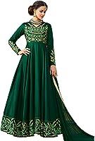 Ethnic Yard Semi-Stitched Free Size Women's Silk Dress Materia