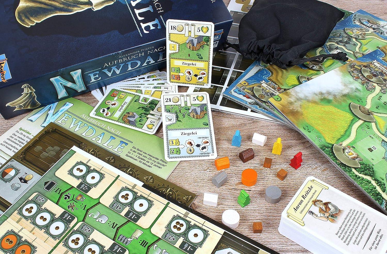 Lookout Games 22160113 Newdale - Juego de Mesa (Contenido en alemán): Amazon.es: Juguetes y juegos