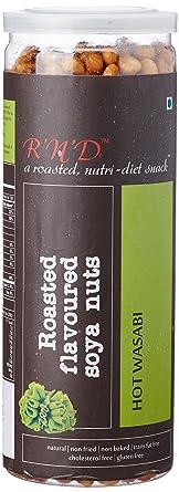RnD Roasted Flavoured Soyanuts, Hot Wasabi, 150g Peanuts at amazon