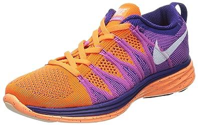 620658 Nike Damen Lilaorange 815 Flyknit Gr36 Lunar2 Laufschuhe XuPTOkZi