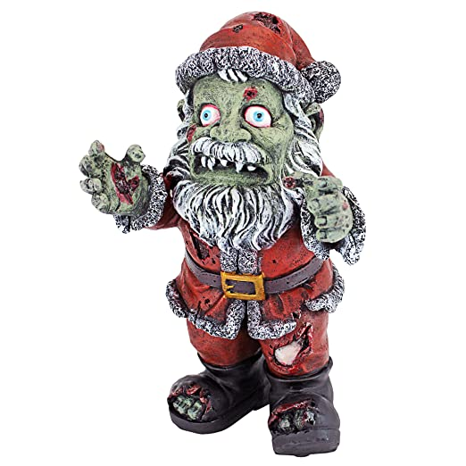 c98d0e6c029bb Amazon.com   Design Toscano Christmas Decorations - Zombie Santa Claus  Holiday Decor Zombie Apocalypse Statue   Garden   Outdoor