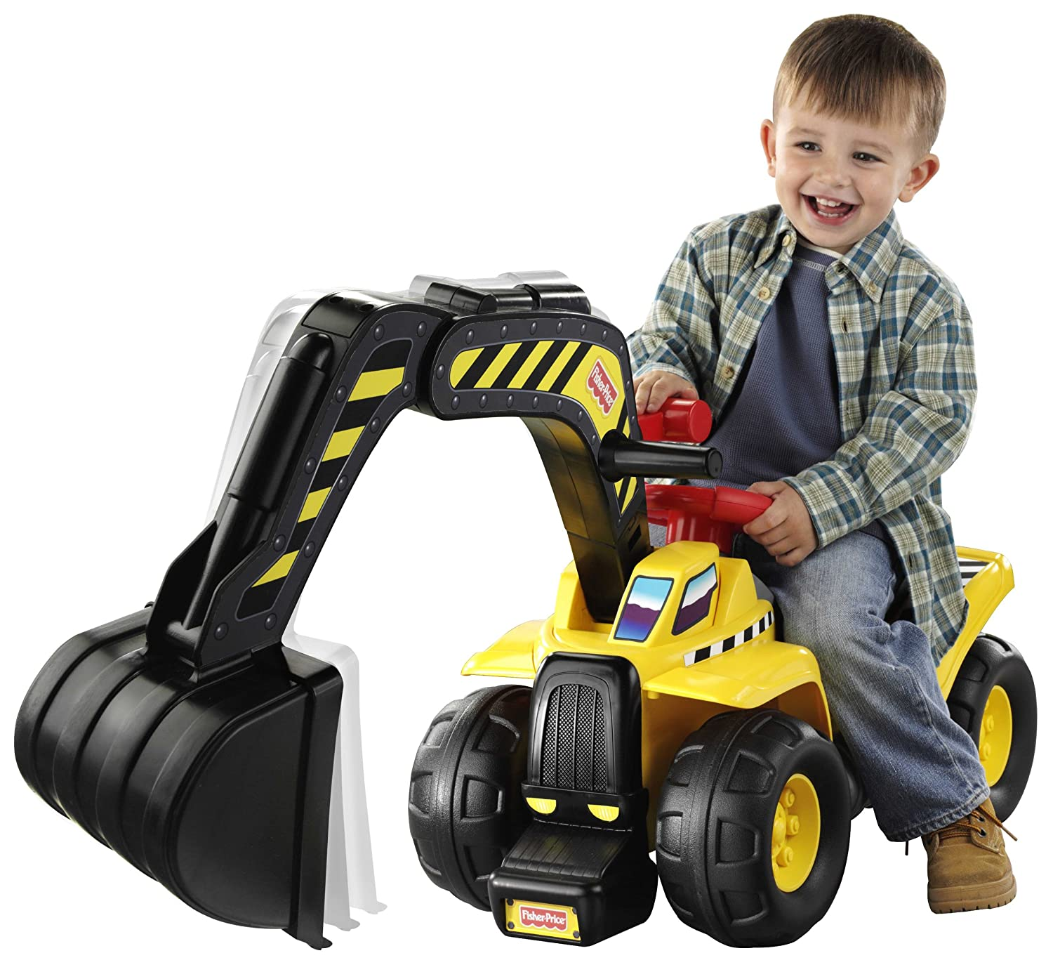 Fisher Price Big Action Digger Ride on Amazon Toys & Games