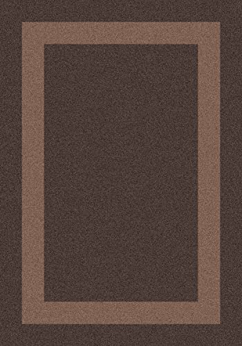 Milliken Modern Times Collection Bailey, 10 9 x 13 2 , Dark Brown